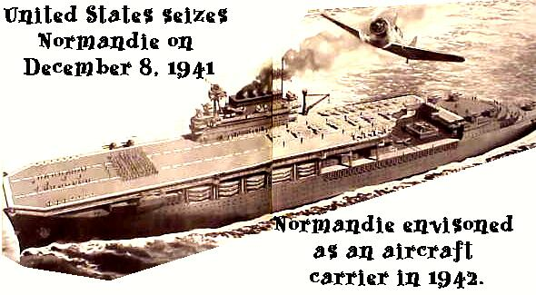 SS Normandie Webring by Ships of the Line